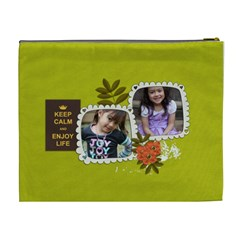 Cosmetic Bag (xl): Keep Calm By Jennyl   Cosmetic Bag (xl)   L7gqu52igpha   Www Artscow Com Back