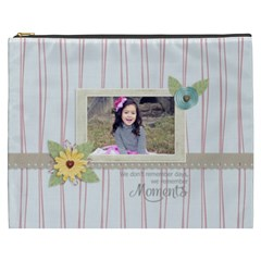 Cosmetic Bag (xxxl): Moments By Jennyl   Cosmetic Bag (xxxl)   Wirdbwu7s395   Www Artscow Com Front