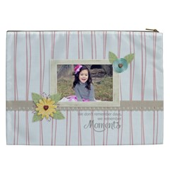 Cosmetic Bag (xxl): Moments By Jennyl   Cosmetic Bag (xxl)   N46ejuhi7hu1   Www Artscow Com Back