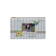Cosmetic Bag (s):  Moments By Jennyl   Cosmetic Bag (small)   W1lov1m5gau8   Www Artscow Com Front