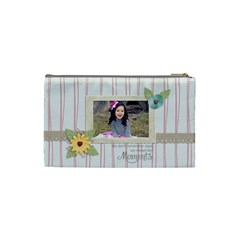 Cosmetic Bag (s):  Moments By Jennyl   Cosmetic Bag (small)   W1lov1m5gau8   Www Artscow Com Back
