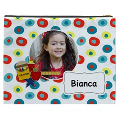 Cosmetic Bag (xxxl): School Stuff By Jennyl   Cosmetic Bag (xxxl)   Qzcg4baoioxz   Www Artscow Com Back