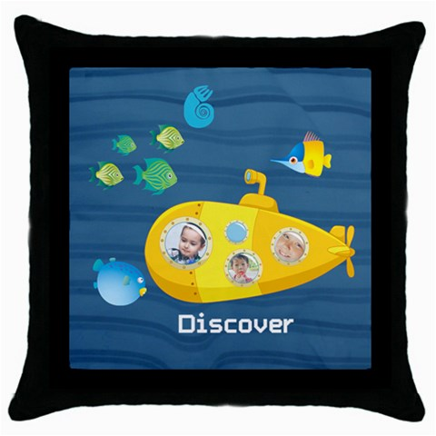 Kids Lego By Kids   Throw Pillow Case (black)   Rxobddkyrvzd   Www Artscow Com Front