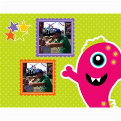 Wall Calendar 11 X 8 5 : Monsters By Jennyl   Wall Calendar 11  X 8 5  (12 Months)   2zjalfqm64uj   Www Artscow Com Month