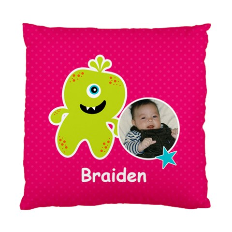 Cushion Case (one Side) : Monster 2 By Jennyl   Standard Cushion Case (one Side)   I3cnf43q833r   Www Artscow Com Front