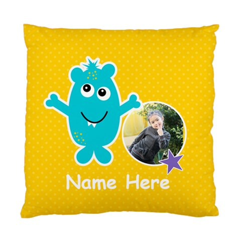 Cushion Case (one Side) : Monster 3 By Jennyl   Standard Cushion Case (one Side)   Psjlpn1w254a   Www Artscow Com Front