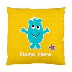 Cushion Case (two Sides) : Monster 3 By Jennyl   Standard Cushion Case (two Sides)   Gml1zk4b0kca   Www Artscow Com Back