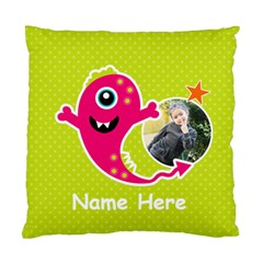 Cushion Case (two Sides) : Monster 4 By Jennyl   Standard Cushion Case (two Sides)   Vq6kxaeaocje   Www Artscow Com Front