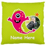 Large Cushion Case (Two Sides) : Monster 4