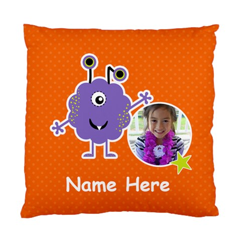 Cushion Case (one Side) : Monster 5 By Jennyl   Standard Cushion Case (one Side)   E24jse3mlre0   Www Artscow Com Front