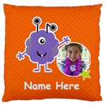Large Cushion Case (Two Sides) : Monster 5