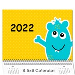 Wall Calendar 8.5 x 6: My Monsters - Wall Calendar 8.5  x 6