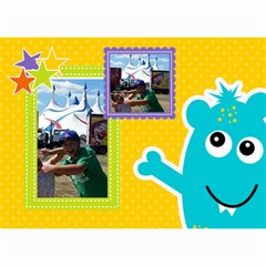 Wall Calendar 8 5 X 6: My Monsters By Jennyl   Wall Calendar 8 5  X 6    Pk9dwx76w47z   Www Artscow Com Month