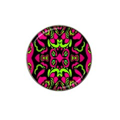 Psychedelic Retro Ornament Print Golf Ball Marker 4 Pack (for Hat Clip) by dflcprints