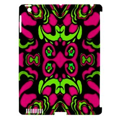 Psychedelic Retro Ornament Print Apple Ipad 3/4 Hardshell Case (compatible With Smart Cover) by dflcprints