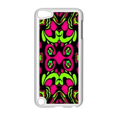 Psychedelic Retro Ornament Print Apple Ipod Touch 5 Case (white) by dflcprints