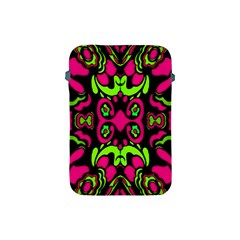 Psychedelic Retro Ornament Print Apple Ipad Mini Protective Sleeve by dflcprints
