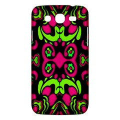 Psychedelic Retro Ornament Print Samsung Galaxy Mega 5 8 I9152 Hardshell Case  by dflcprints