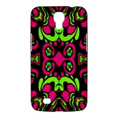 Psychedelic Retro Ornament Print Samsung Galaxy Mega 6 3  I9200 Hardshell Case by dflcprints