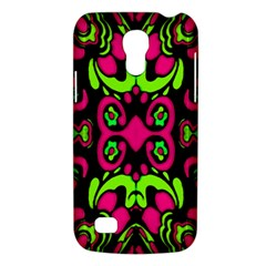 Psychedelic Retro Ornament Print Samsung Galaxy S4 Mini (gt I9190) Hardshell Case  by dflcprints