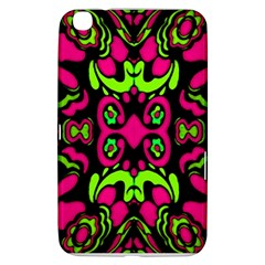 Psychedelic Retro Ornament Print Samsung Galaxy Tab 3 (8 ) T3100 Hardshell Case  by dflcprints