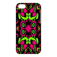Psychedelic Retro Ornament Print Apple Iphone 5c Hardshell Case by dflcprints