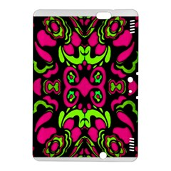 Psychedelic Retro Ornament Print Kindle Fire Hdx 8 9  Hardshell Case by dflcprints