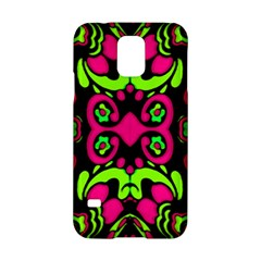 Psychedelic Retro Ornament Print Samsung Galaxy S5 Hardshell Case  by dflcprints