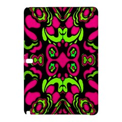Psychedelic Retro Ornament Print Samsung Galaxy Tab Pro 10 1 Hardshell Case by dflcprints