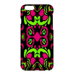 Psychedelic Retro Ornament Print Apple Iphone 6 Plus Hardshell Case by dflcprints