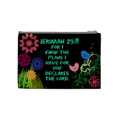 Kaitlyn By Jeni   Cosmetic Bag (medium)   Dbkcnrizesrp   Www Artscow Com Back