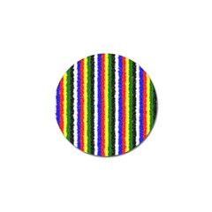 Basic Colors Curly Stripes Golf Ball Marker by BestCustomGiftsForYou