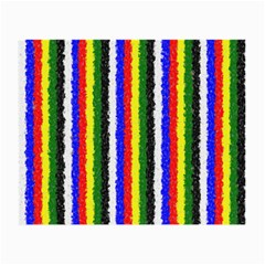 Basic Colors Curly Stripes Glasses Cloth (small, Two Sided) by BestCustomGiftsForYou