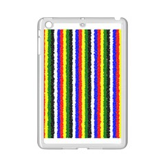 Basic Colors Curly Stripes Apple Ipad Mini 2 Case (white) by BestCustomGiftsForYou