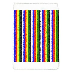 Basic Colors Curly Stripes Removable Flap Cover (large) by BestCustomGiftsForYou