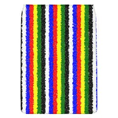 Basic Colors Curly Stripes Removable Flap Cover (small) by BestCustomGiftsForYou