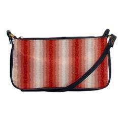 Red Curly Stripes Evening Bag by BestCustomGiftsForYou