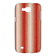 Red Curly Stripes Samsung Galaxy Premier I9260 Hardshell Case by BestCustomGiftsForYou