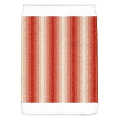 Red Curly Stripes Removable Flap Cover (large) by BestCustomGiftsForYou