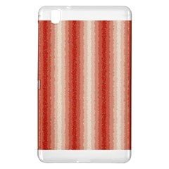 Red Curly Stripes Samsung Galaxy Tab Pro 8 4 Hardshell Case by BestCustomGiftsForYou