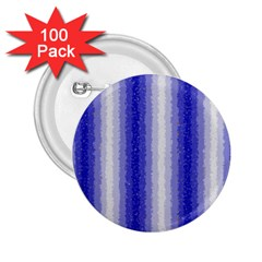 Dark Blue Curly Stripes 2 25  Button (100 Pack) by BestCustomGiftsForYou