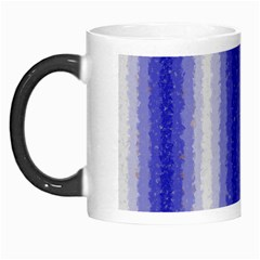 Dark Blue Curly Stripes Morph Mug by BestCustomGiftsForYou