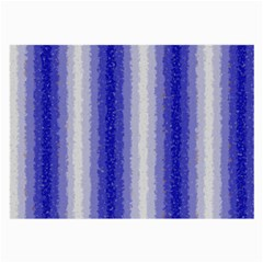 Dark Blue Curly Stripes Glasses Cloth (large) by BestCustomGiftsForYou