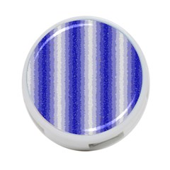 Dark Blue Curly Stripes 4 Port Usb Hub (one Side) by BestCustomGiftsForYou