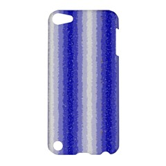 Dark Blue Curly Stripes Apple Ipod Touch 5 Hardshell Case by BestCustomGiftsForYou