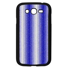 Dark Blue Curly Stripes Samsung Galaxy Grand Duos I9082 Case (black) by BestCustomGiftsForYou