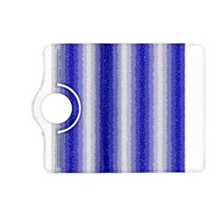 Dark Blue Curly Stripes Kindle Fire Hd (2013) Flip 360 Case by BestCustomGiftsForYou