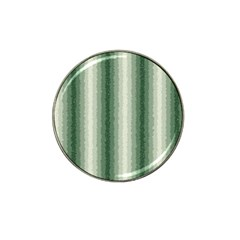 Dark Green Curly Stripes Golf Ball Marker 4 Pack (for Hat Clip) by BestCustomGiftsForYou