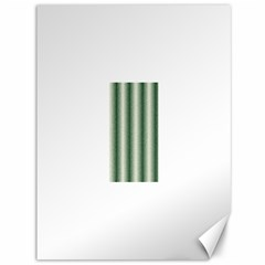 Dark Green Curly Stripes Canvas 36  X 48  (unframed) by BestCustomGiftsForYou