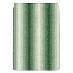 Dark Green Curly Stripes Removable Flap Cover (small) by BestCustomGiftsForYou